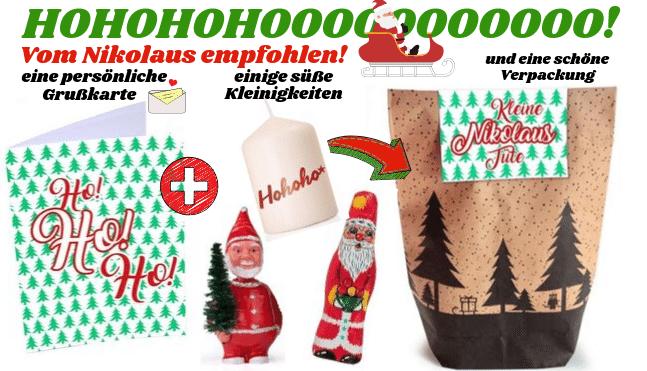 Geschenksets Nikolaus