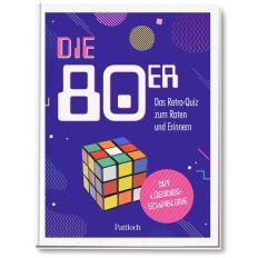 Geschenkbuch DIE 80er - DAS RETRO QUIZ