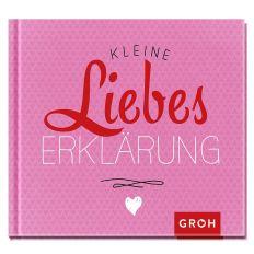 Mini-Buch KLEINE LIEBESERKLÄRUNG