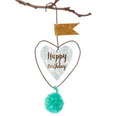 Mini Pom Pom HAPPY BIRTHDAY