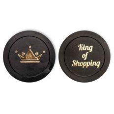 Einkaufswagenchip KING OF SHOPPING