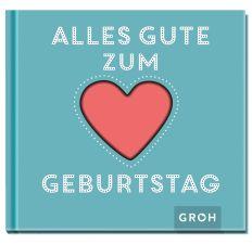 Geschenkbuch ALLES GUTE ZUM GEBURTSTAG