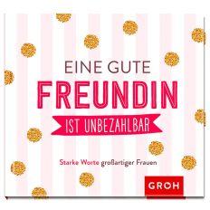 Mini-Buch EINE GUTE FREUNDIN IST UNBEZAHLBAR