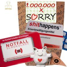 Geschenkset 1.000.000 x SORRY # 4