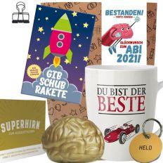 Geschenkset GLÜCKWUNSCH ZUM ABI 2021! SUPERHIRN # 1