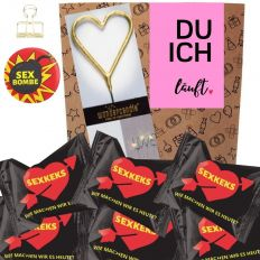 Geschenkset DU ICH LÄUFT - rosa # 4
