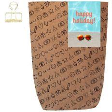 Geschenktüte HAPPY HOLIDAY! - zum Befüllen