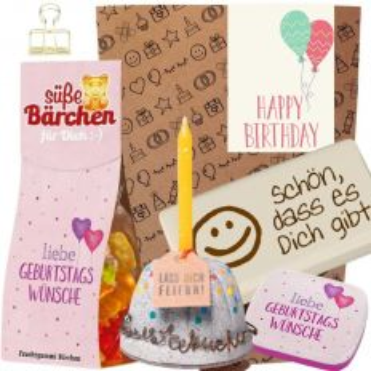 Geschenkset HAPPY BIRTHDAY BALLONS # 3