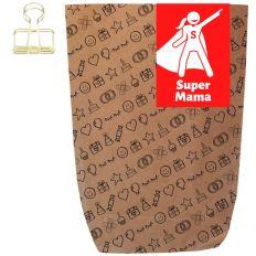 Geschenktüte SUPER MAMA - zum Befüllen