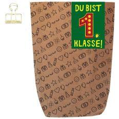 Geschenktüte DU BIST 1. KLASSE! - zum Befüllen