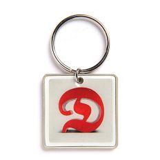 Schlüsselanhänger Buchstabe D