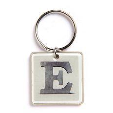 Schlüsselanhänger Buchstabe E