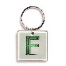 Schlüsselanhänger Buchstabe F