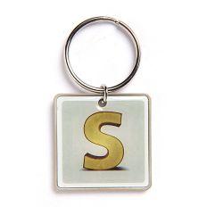 Schlüsselanhänger Buchstabe S