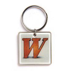 Schlüsselanhänger Buchstabe W