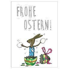Personalisierbare Grußkarte FROHE OSTERN - A5 Ramiro