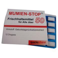 Kaugummis MUMIEN-STOP Ü 50