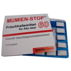 Kaugummis MUMIEN-STOP Ü 60
