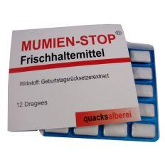 Kaugummis MUMIEN-STOP
