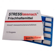 Kaugummis STRESS LASS NACH