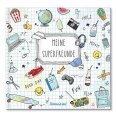 Freundebuch MEINE SUPERFREUNDE - Version PLAY