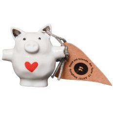 Mini Schwein HERZ ROT