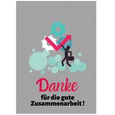 Minicard DANKESCHÖN FÜR DIE ZUSAMMENARBEIT
