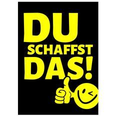 Minicard DU SCHAFFST DAS!