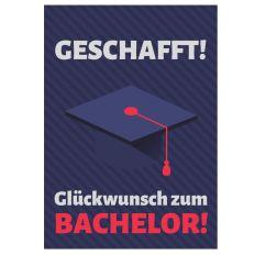 Minicard GLÜCKWUNSCH ZUM BACHELOR!