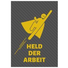 Minicard HELD DER ARBEIT