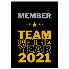 Minicard MEMBER * TEAM OF THE YEAR 2021