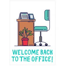 Minicard WELCOME BACK TO THE OFFICE