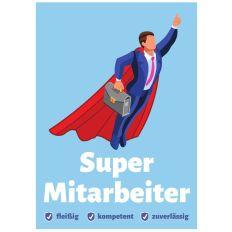 Minicard SUPER MITARBEITER