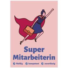 Minicard SUPER MITARBEITERIN