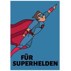 Minicard FÜR SUPERHELDEN