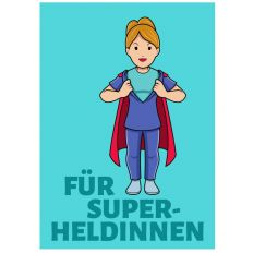 Minicard FÜR SUPERHELDINNEN