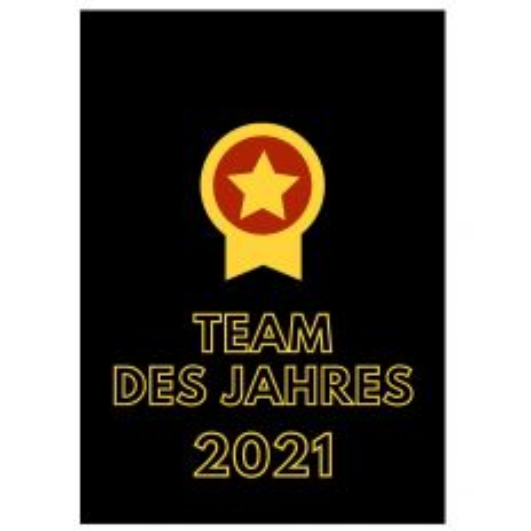 Minicard TEAM DES JAHRES 2021