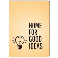 Kleines Notizheft HOME FOR GOOD IDEAS