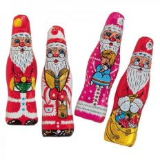 Schokoladen-Weihnachtsmann SLIM SANTA von Storz
