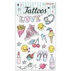 Tattoos Krima und Isa GIRL POWER