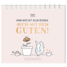 Mini Kalender MAN MUSS MIT ALLEM RECHNEN! 2022