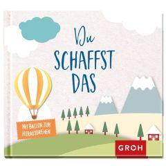 Geschenkbuch DU SCHAFFST DAS - mit Ballon