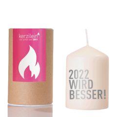 Kerze 2022 WIRD BESSER!