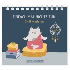 Mini Kalender EINFACH MAL NICHTS TUN 2022