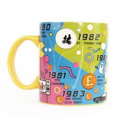 Kaffeebecher 80ER JAHRE