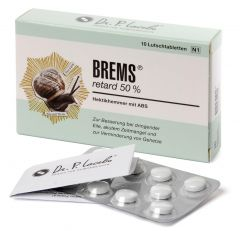 Tabletten BREMS retard 50%