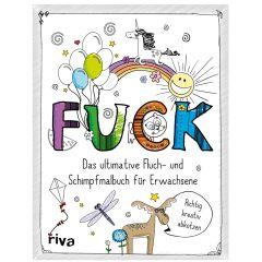 Fluch- und Schimpfmalbuch FUCK