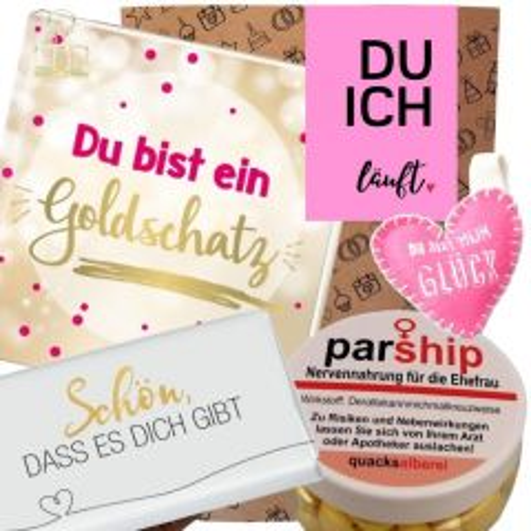 Geschenkset DU ICH LÄUFT - rosa # 5