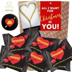 Geschenkset ALL I WANT FOR CHRISTMAS IS YOU! # 4