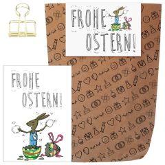Geschenkset FROHE OSTERN - zum selber Befüllen